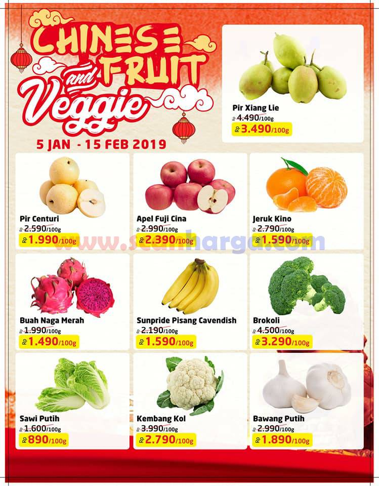 Promo Lulu Chinese Fruit And Vegie 5 Januari - 15 Februari 2019