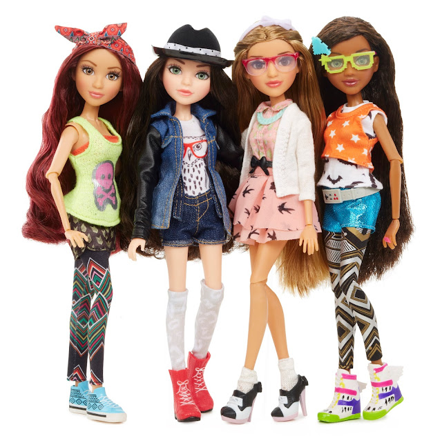 All 4 Mc2 Dolls