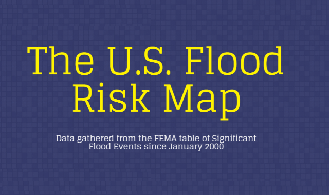 The U.S Flood Risk Map