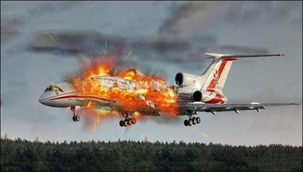 Mimpi Melihat Pesawat Jatuh