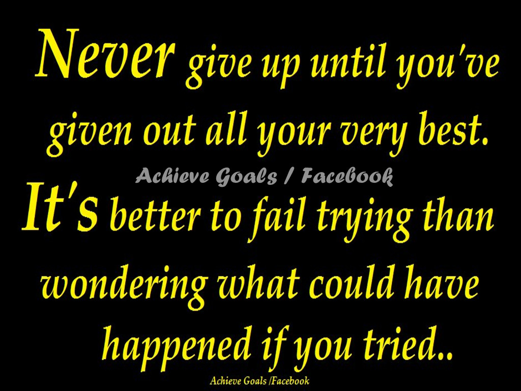 Never Give Up Someone You Love Quotes