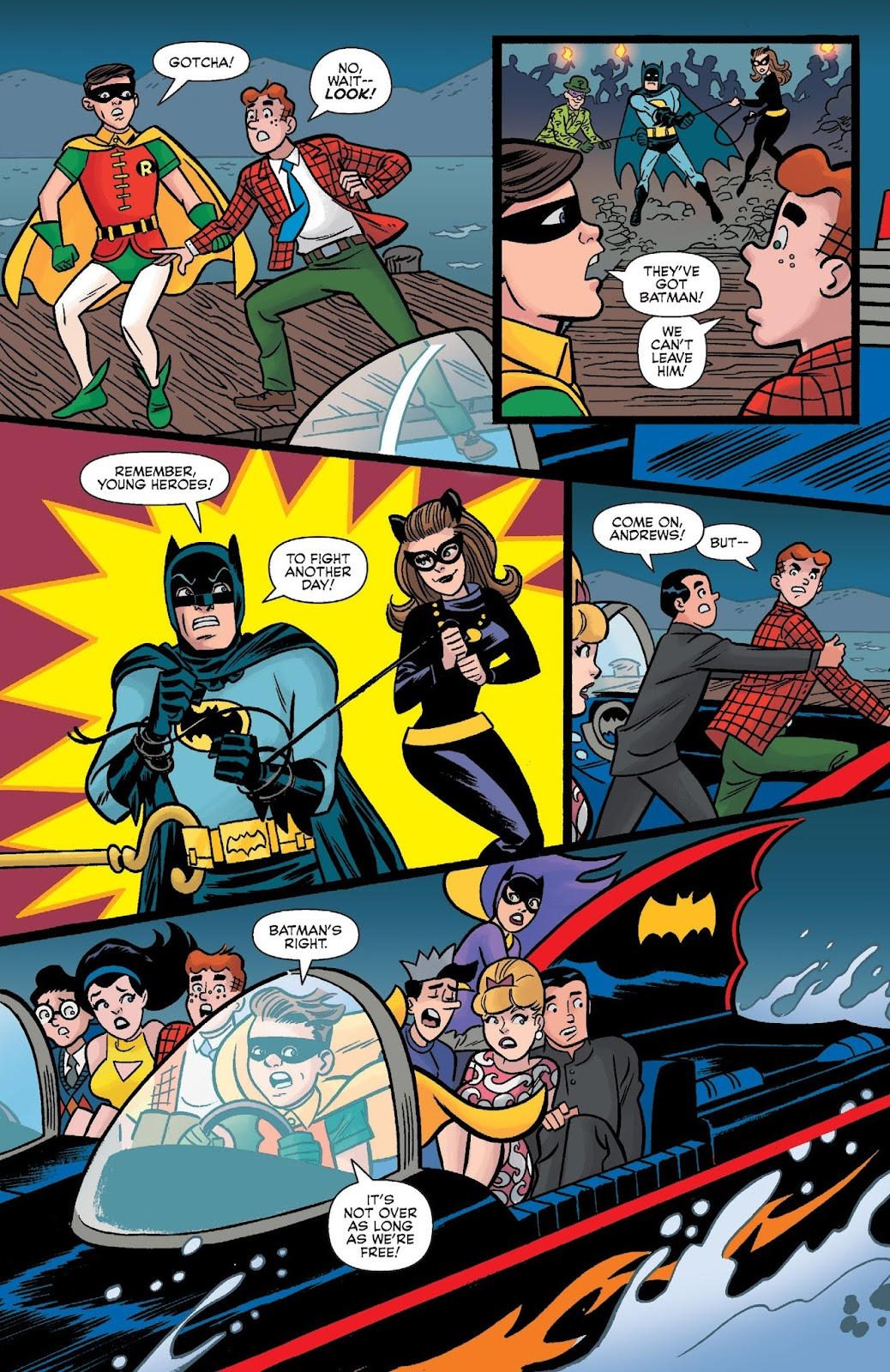 Read online Archie Meets Batman '66 comic -  Issue #5 - 20