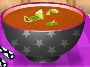 لعبة حساء الطماطم