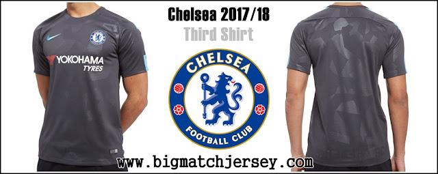 Nike Chelsea FC 2017-18 Third Shirt