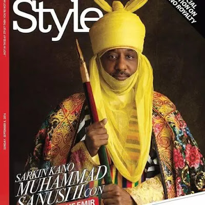 Emir Of Kano, Lamido Sanusi Covers Thisday Style Magazine