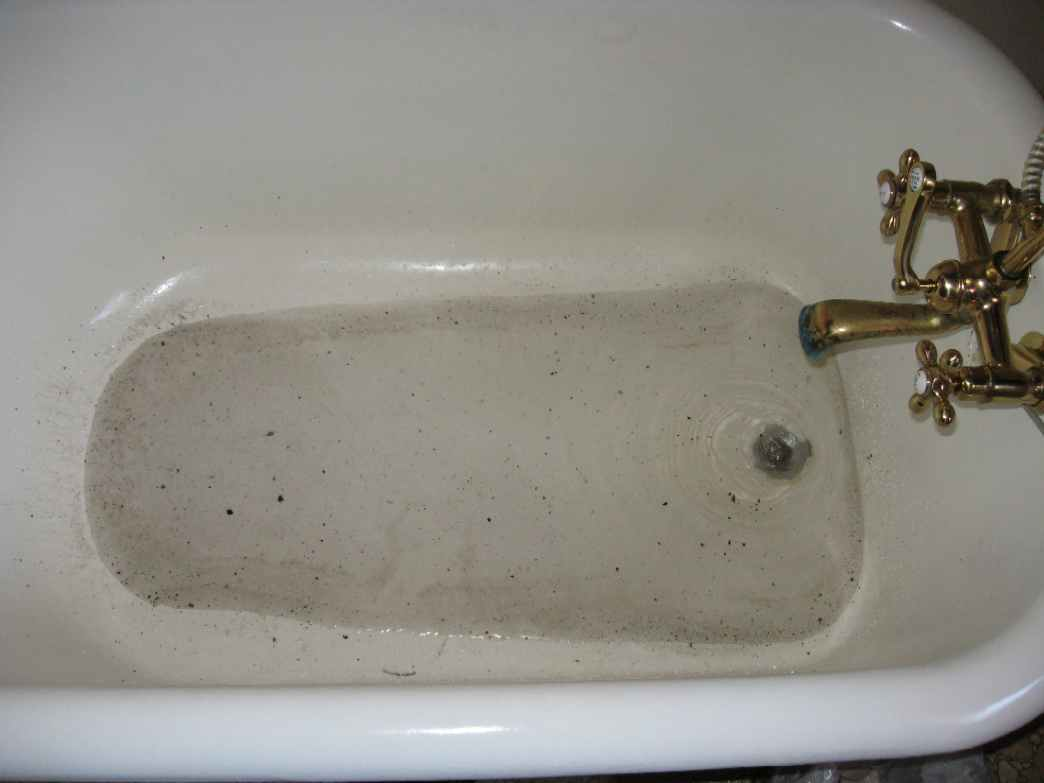 Unclogging Bathroom Drain. clogged bathroom drains how to ...