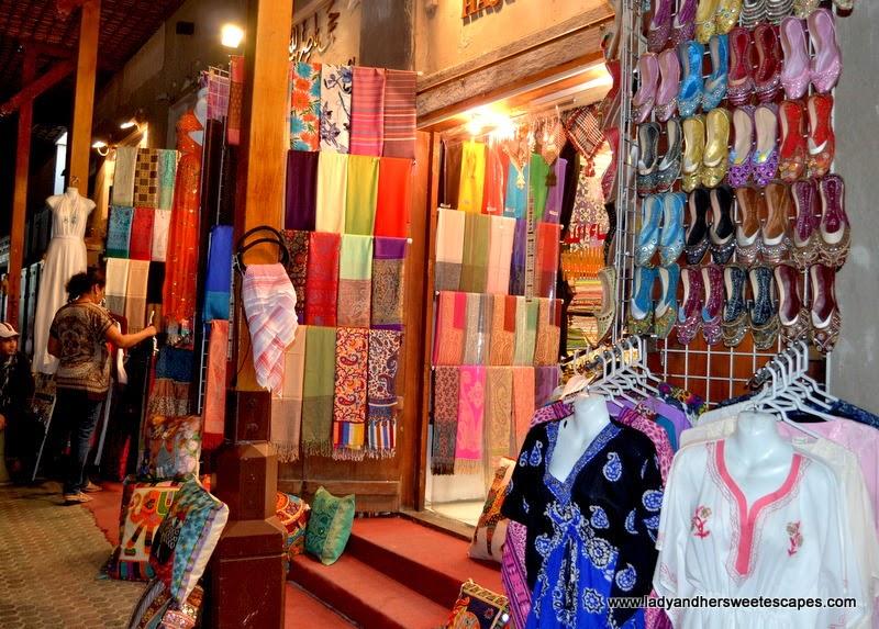 textile at Deira Grand Souk in Dubai