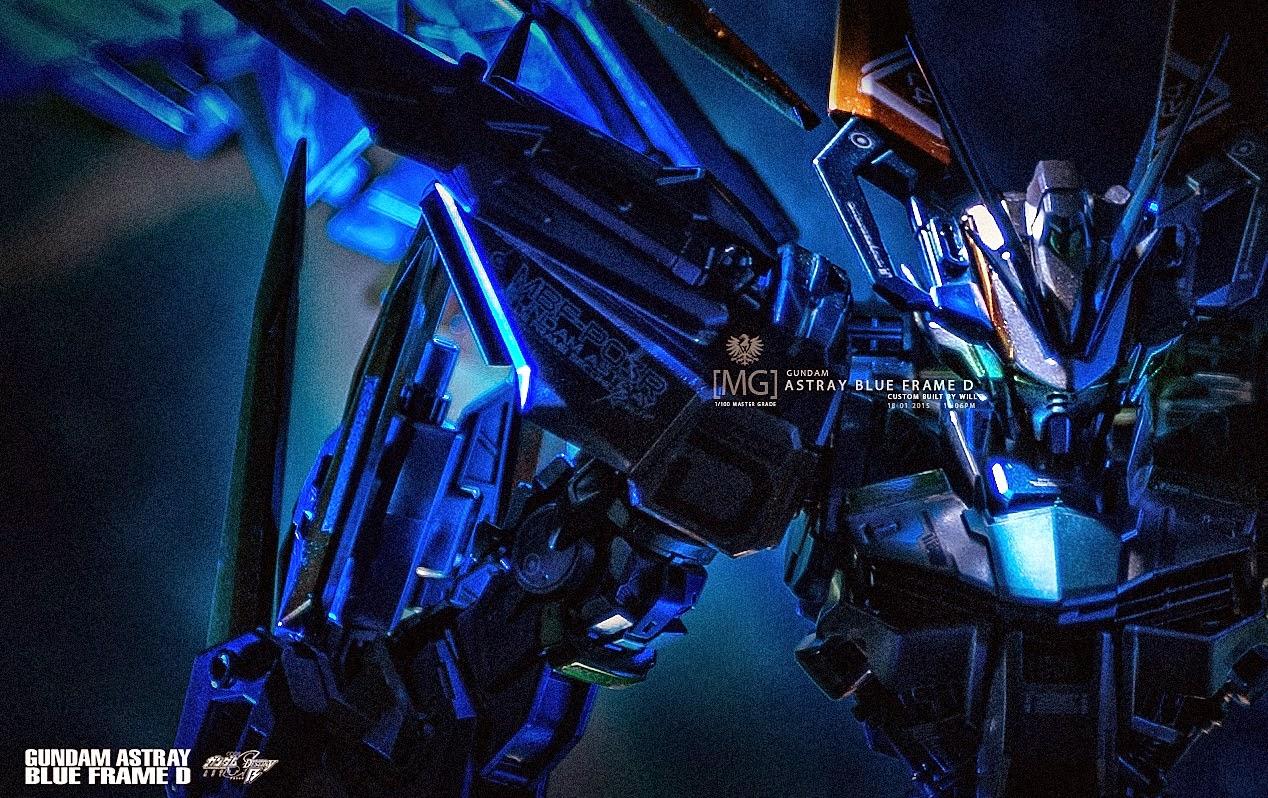 Gundam Blue Paint