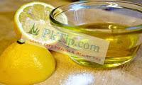 Lemon And Olive Oil For Dark Inner Thighs