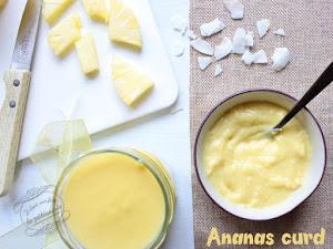 Ananas curd ou crème à l'ananas