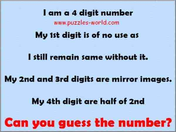 Can you guess the number ? | Puzzles World