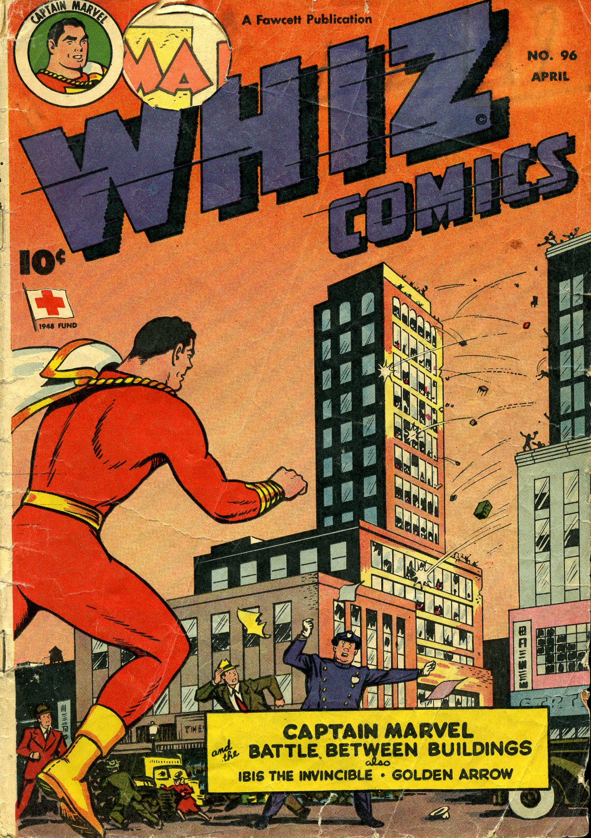 WHIZ Comics 96 Page 1