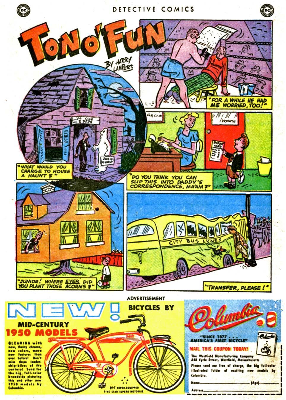 Read online Detective Comics (1937) comic -  Issue #162 - 37