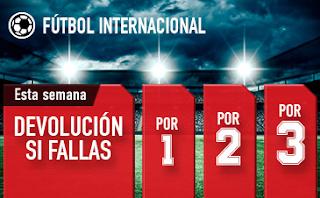 sportium Fútbol: Combinadas 'con seguro' hasta 28 octubre