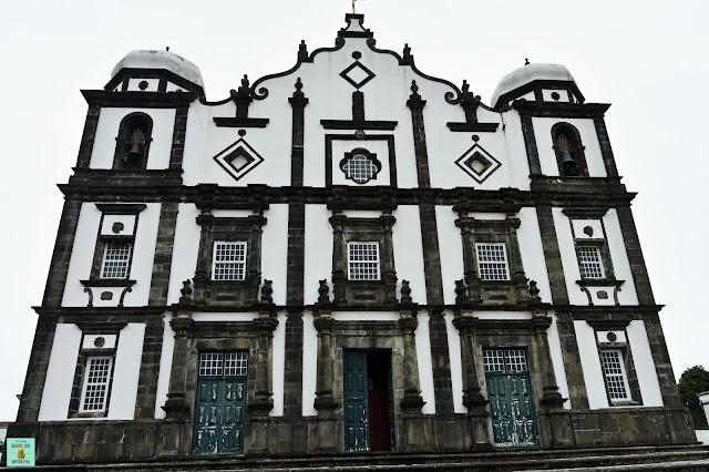 Iglesia Matriz de Nossa Senhora da Conceiçao, isla de Flores (Azores)