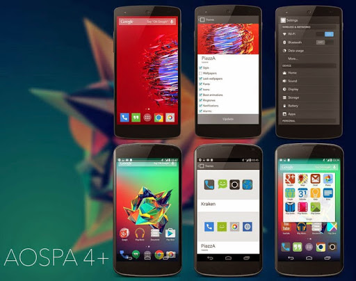 AOSPA Paranoid Android Rom For Redmi 1s  - Tech Touch Down
