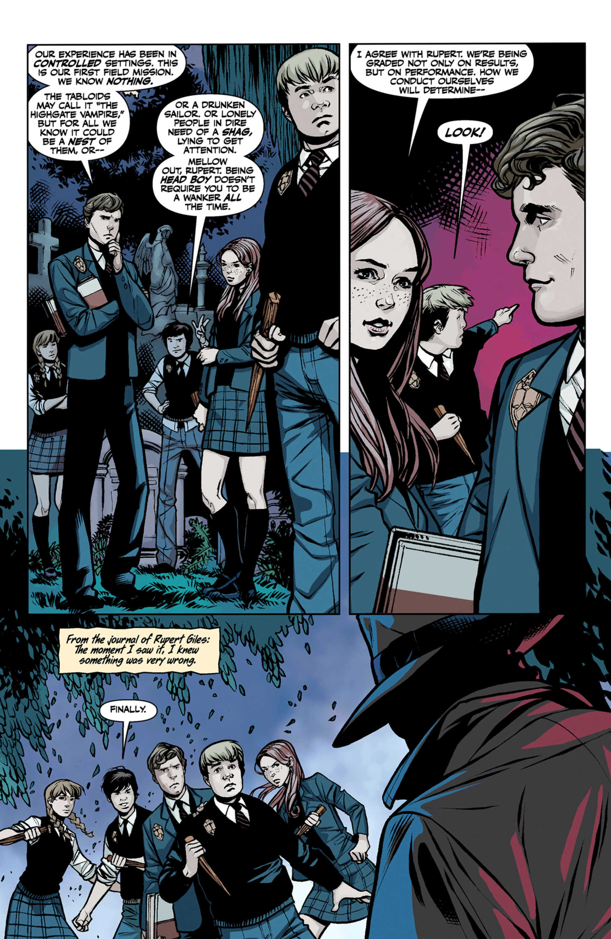 Read online Angel and Faith comic -  Issue #6 - 9