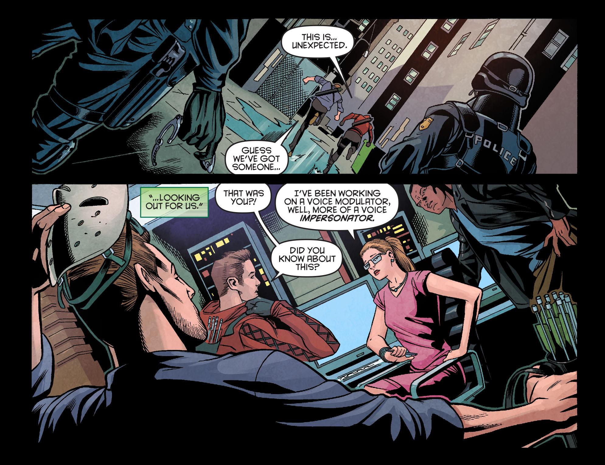 Read online Arrow: Season 2.5 [I] comic -  Issue #18 - 15