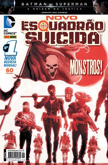 Review: Novo Esquadrão Suicida #1 (Editora Panini)
