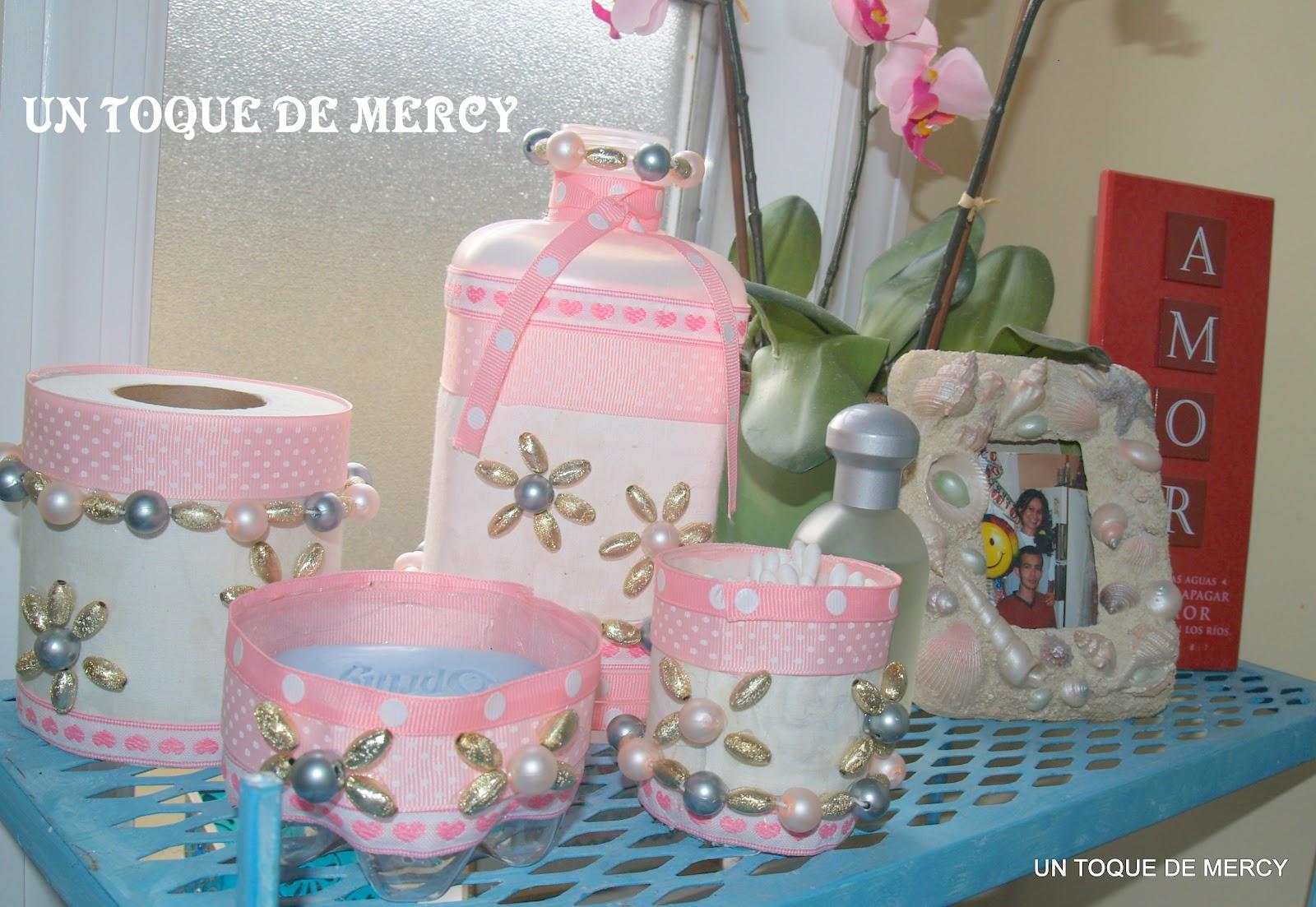 Un toque de mercy reciclando me fascina reciclar y for Reciclar cosas para decorar