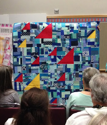 Kelly Young's Regatta quilt