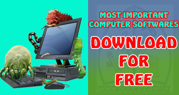 Free Download Important Computer Softwares
