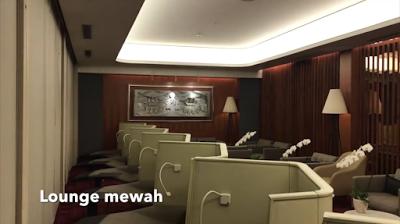 Pengalaman Naik First Class Garuda Indonesia