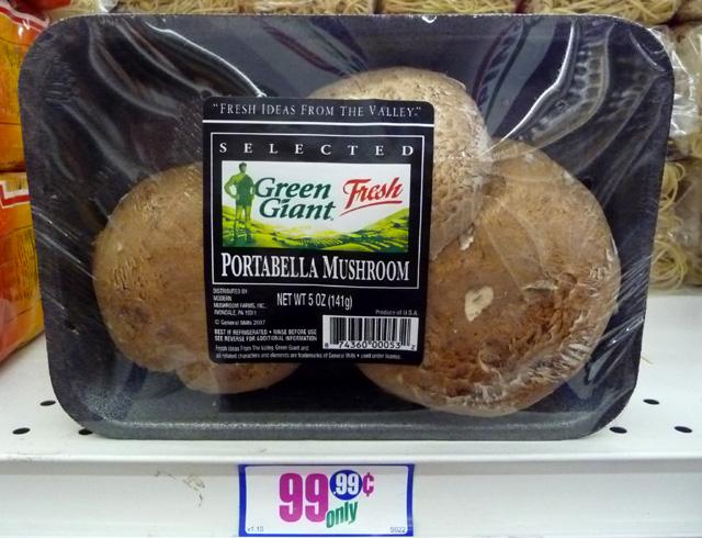 The 99 Cent Chef Portabella Mushroom String Cheese