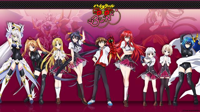 High School DxD BorN BD (Episode 01 – 12) Sub Indo + OVA
