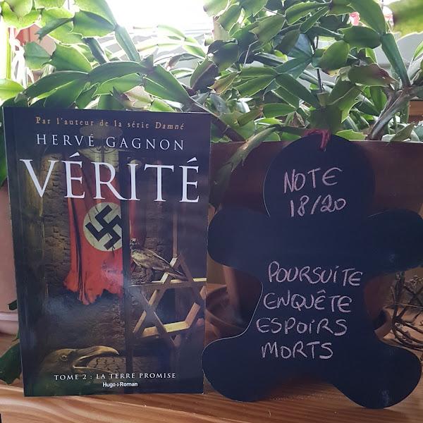 Vérité, tome 2 : La terre promise de Hervé Gagnon