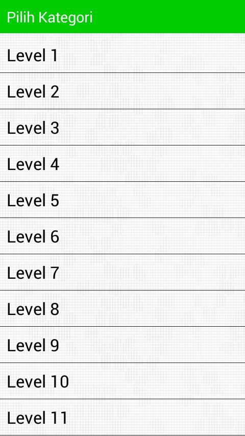 jumlah level