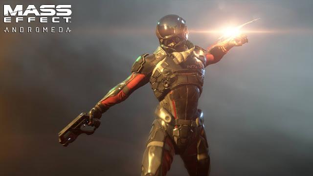 Uno de los personajes del videojuego de exploración espacial Mass Effect Andromeda