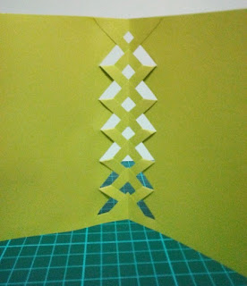 how to weave a card