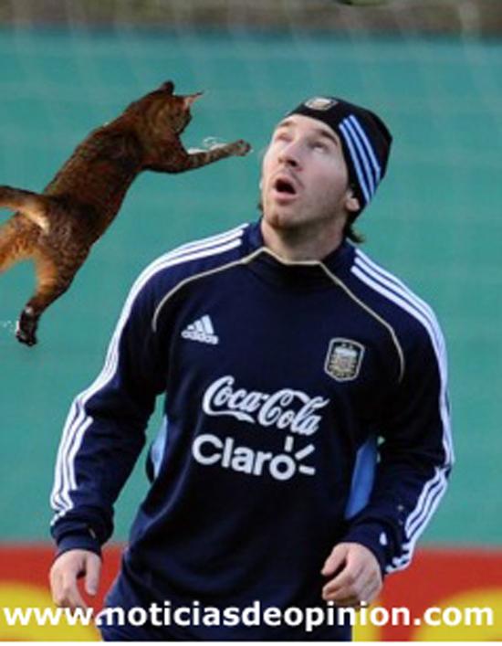Humor: Messi retocado con Photoshop