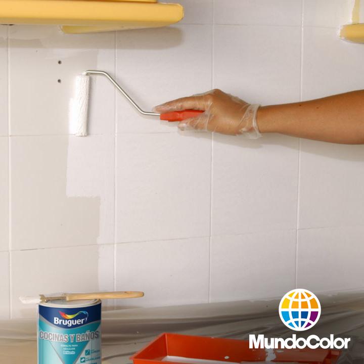 Mundocolor Bruguer Pintar Con Azulejos