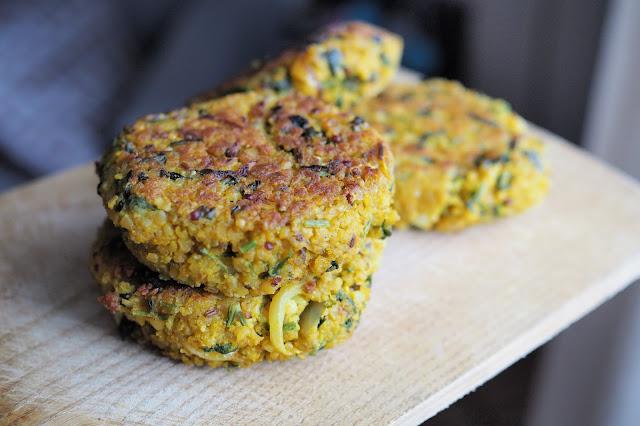 Galettes quinoa boulgour