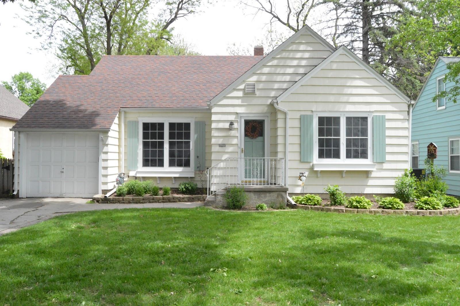 Exterior Home Colors: KRUSE'S WORKSHOP: A New Exterior House Color