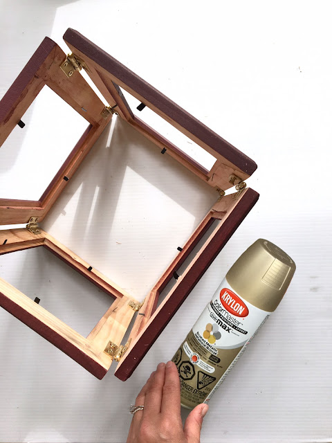 DIY Lantern with Picture Frames