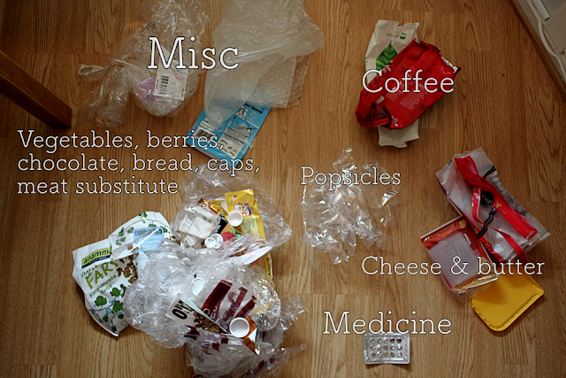 Identifying types of plastic waste