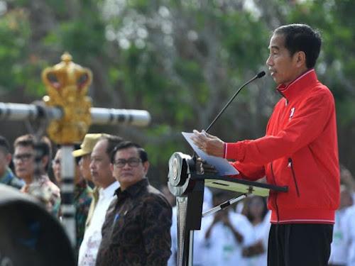 Jokowi di Bali
