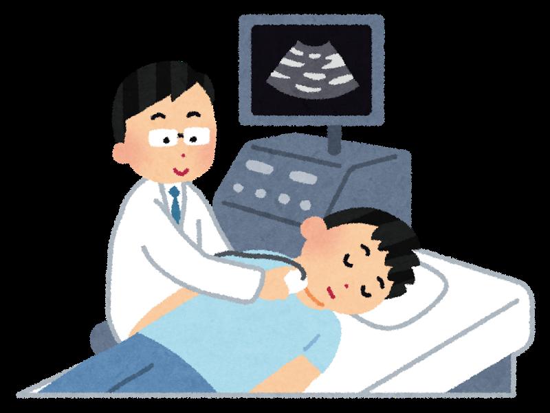 図:頸動脈の狭窄検査