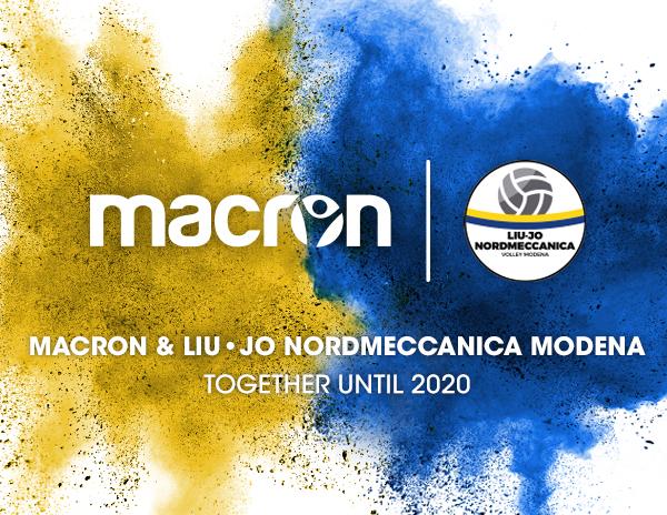 Liu Jo Nordmeccanica Modena rinnova la sponsorizzazione tecnica con Macron 9dd2b1ade0e