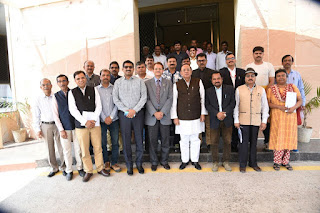 लोकतंत्र में मीडिया की भूमिका महत्वपूर्ण-डॉ. राजेन्द्र कुमार सिंह