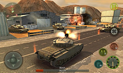 Tank Strike 3D v 1.5 Mod Apk (Money) Terbaru