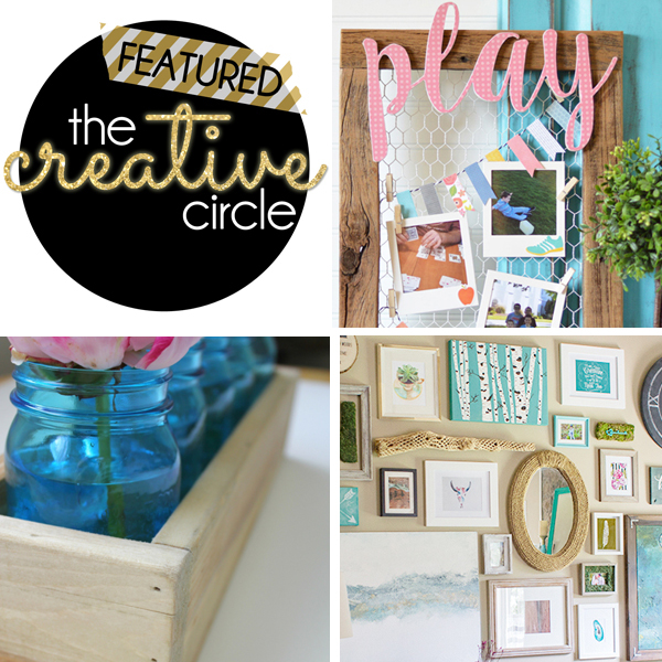 The Creative Circle Link Party Features