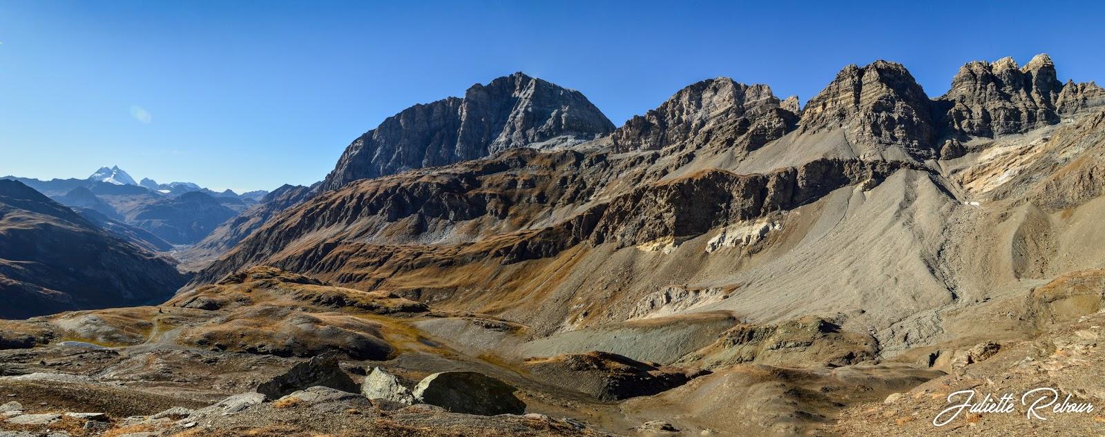 Paysage du Parc National de la Vanoise