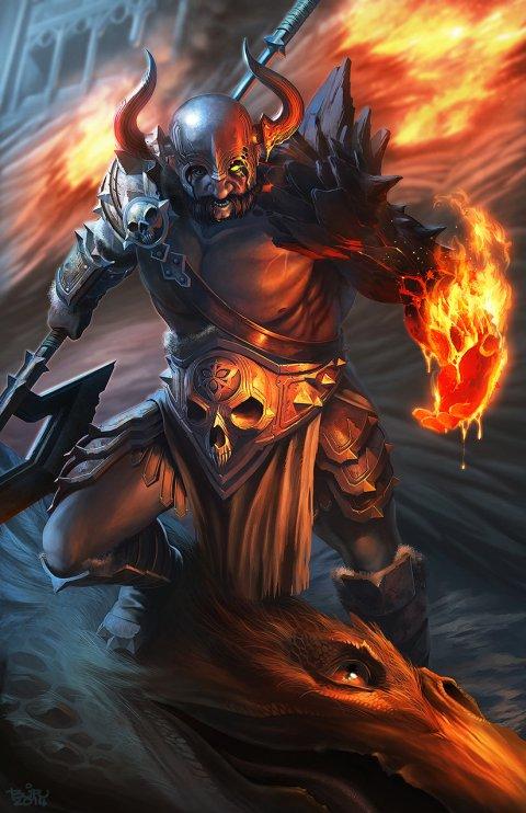 Brian Valeza artstation arte ilustrações fantasia games terror sombrio