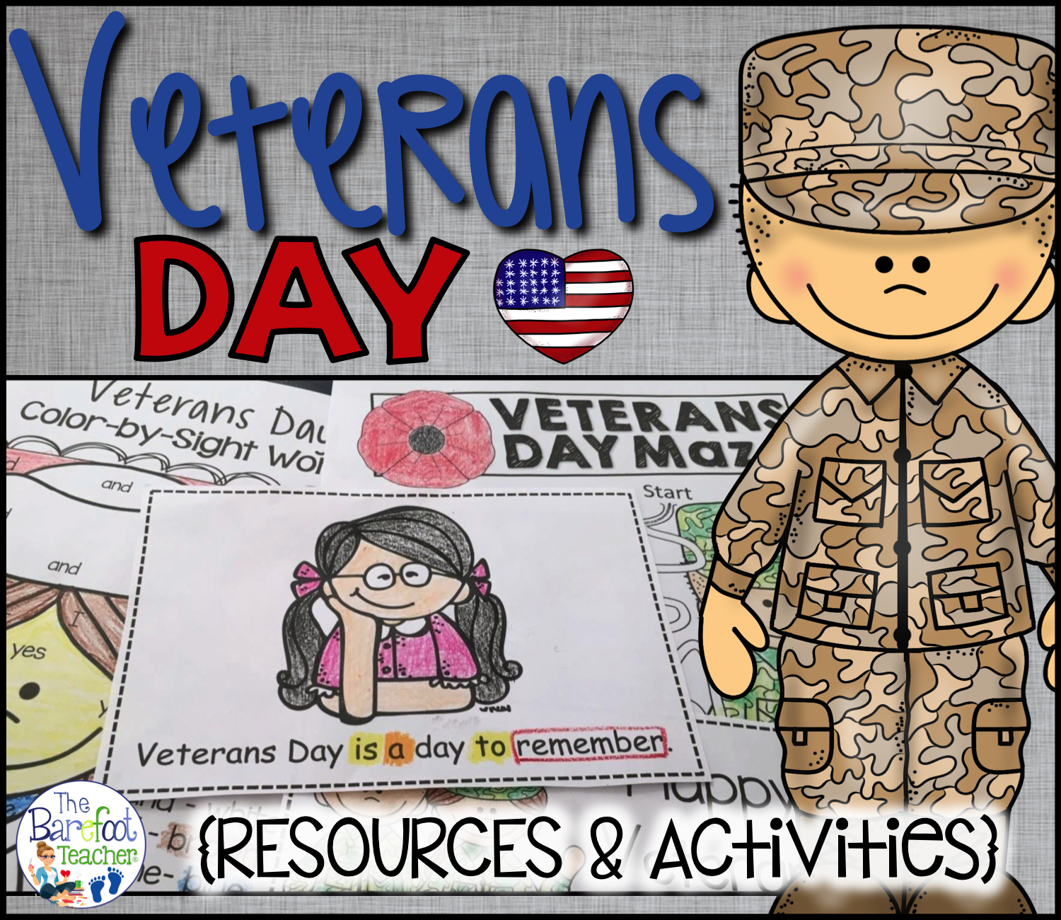 Veterans Day Resources And Activities For Kinders
