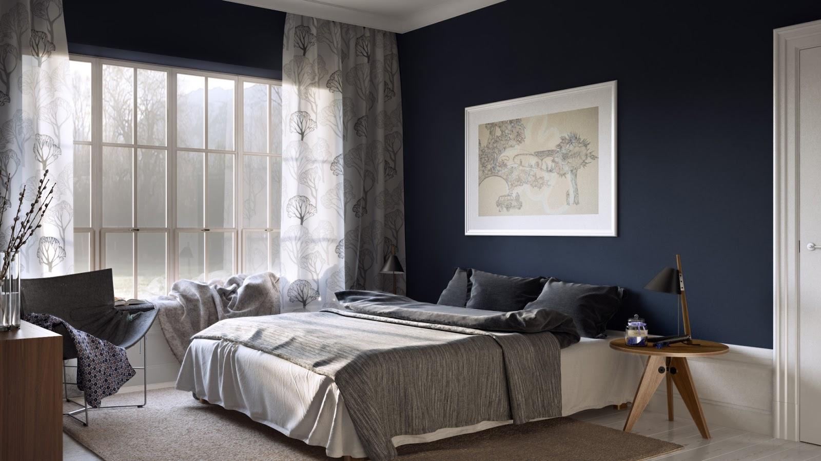 Blue Brown Bedroom Decorating Ideas: Forum.muratordom.pl