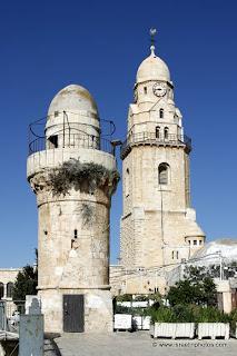 ירושלים בתמונות: קבר דוד וחדר הסעודה האחרונה